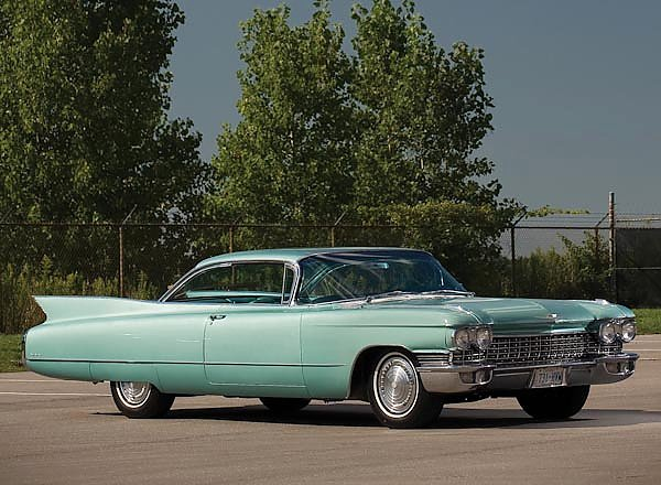 Cadillac Sixty-Two Coupe DeVille '1960