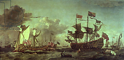 Постер Вельде Вильям Royal Visit to the Fleet, 5th June 1672