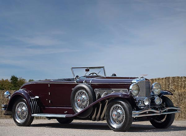 Duesenberg SJ Convertible Coupe by Murphy '1935