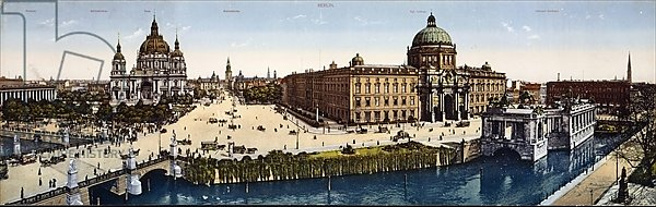 View of Berlin at the turn of the century