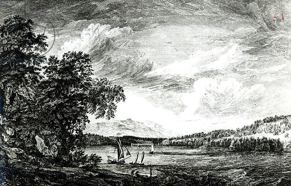 Постер Сэндби Поль View of Hudson's River of Pakepsey