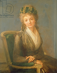 Постер Бойли Луи Portrait presumed to be Lucile Desmoulins 1794