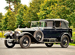 Постер Rolls-Royce Silver Ghost Salamanca by New Heaven '1923