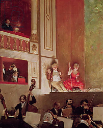 Постер Бакст Леон Revue at the Theatre des Varietes, c.1885