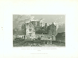 Постер South View of Eastbury House, Near Barking, Essex