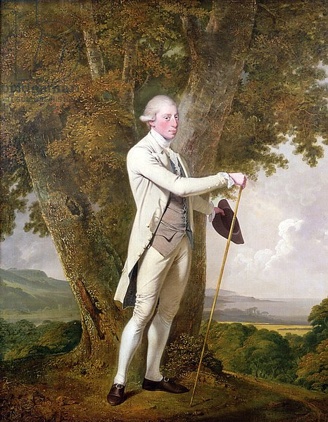 Portrait of John Milnes, 12th Duke of St. Albans c.1771-72