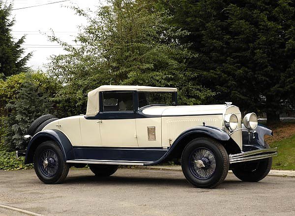 Chrysler Imperial Convertible Coupe (L80) '1928–30
