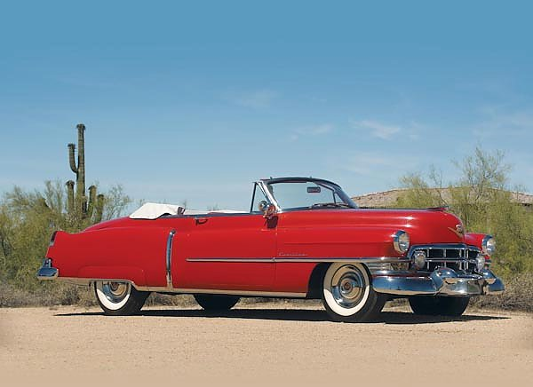 Cadillac Sixty-Two Convertible Coupe '1952