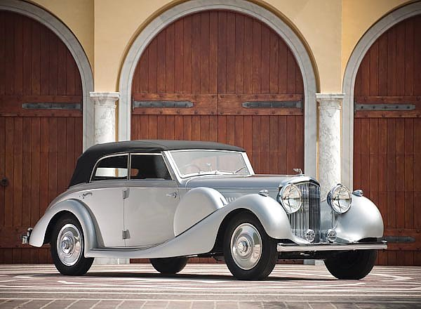 Bentley 4 1 4 Litre Cabriolet '1938