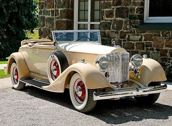 Packard Eight Coupe Roadster (1101) '1934