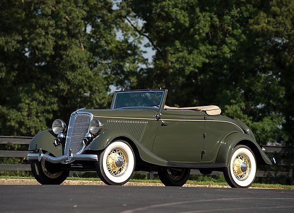 Ford V8 Deluxe Roadster (40) '1934