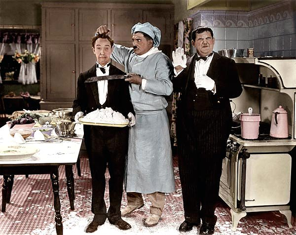 Laurel & Hardy (From Soup To Nuts)C