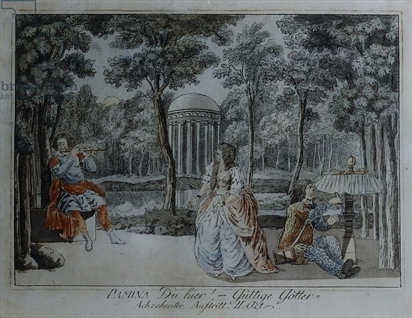 Scene from 'The Magic Flute' by Wolfgang Amadeus Mozart 4