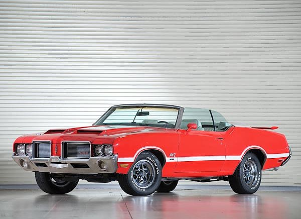 Oldsmobile Cutlass 442 L75 Convertible '1972