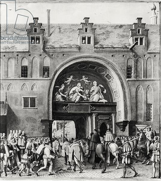 Entry of Hercule Francois of France, Duke of Alencon into Antwerp, 19th February 1582