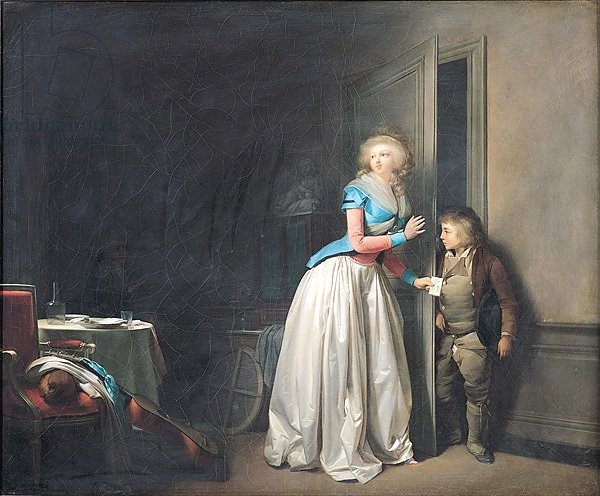The Visit Received, 1789