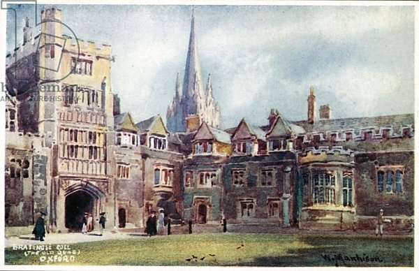 Brasenose College, Old Quad