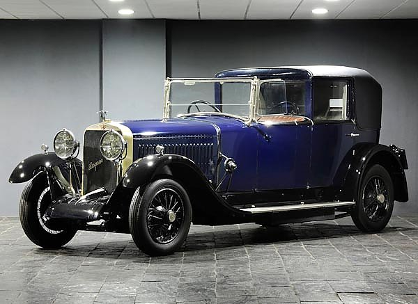 Hispano-Suiza H6B Coupe Chauffeur by Kellner '1925