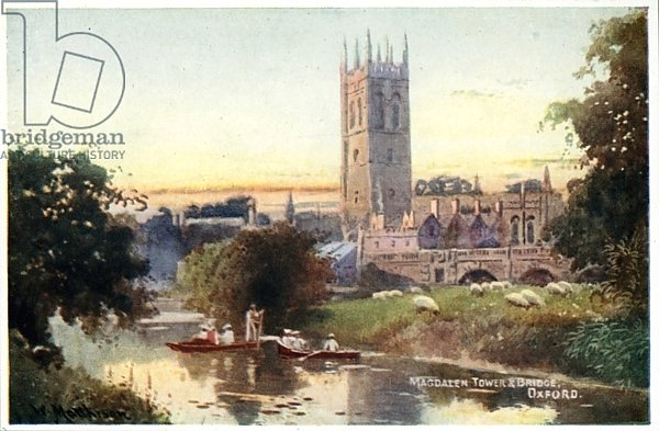 Magdalen Tower and Bridge