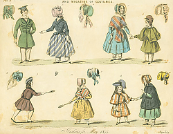 Постер Fashions for May 1844