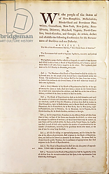 Постер Школа: Америка (18 в) The United States Constitution, 1787 2