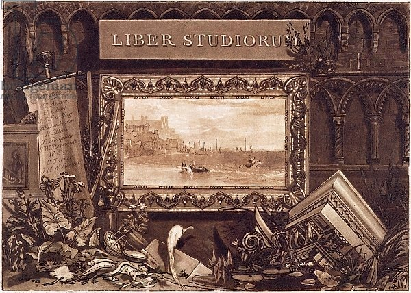 Frontispiece to 'Liber Studiorum', engraved by J. C. Easling 1812