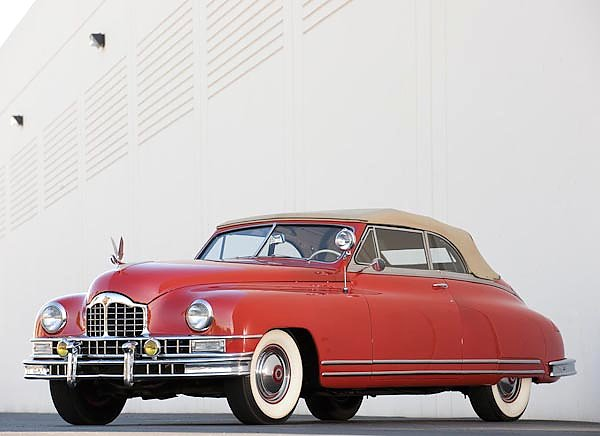 Packard Custom Eight Convertible Coupe '1948