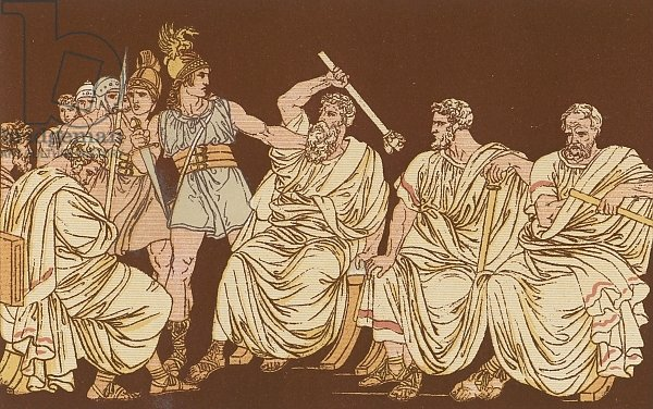 The Gauls and the Senators