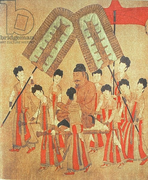 Yongle Emperor, facsimile of original Chinese scroll