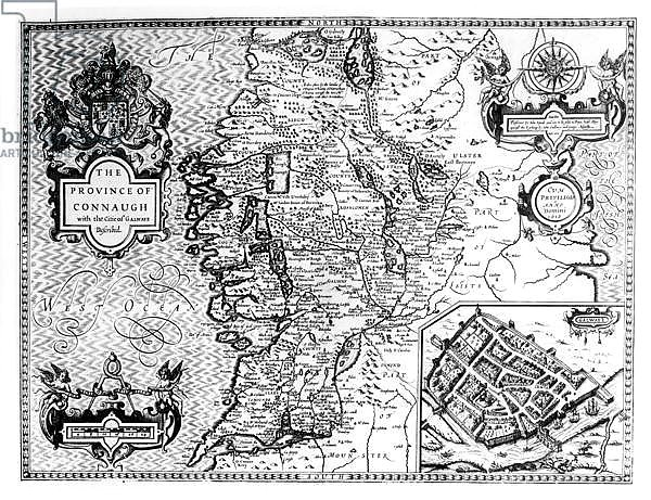 The Province of Connaught with the City of Galway Described, 1611-12