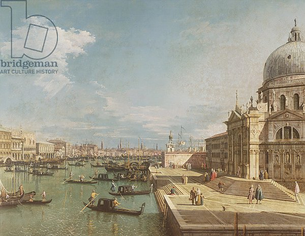 The Entrance to the Grand Canal and the church of Santa Maria della Salute, Venice