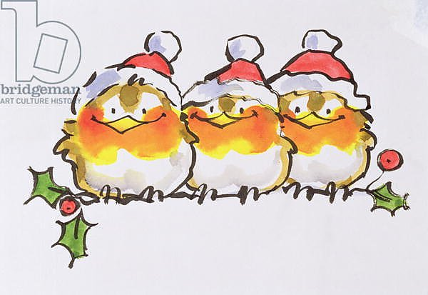 Christmas Robins