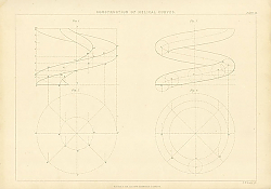 Постер Construction of the Helical Curves