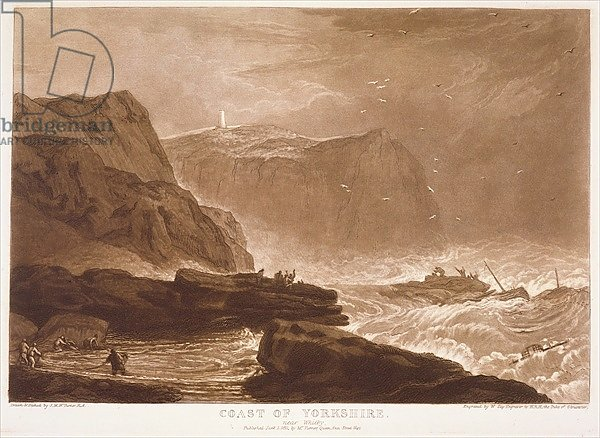 F.24.I Coast of Yorkshire, from the 'Liber Studiorum', engraved by William Say, 1811