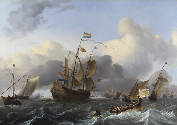 The Eendracht and a Fleet of Dutch Men-of-war