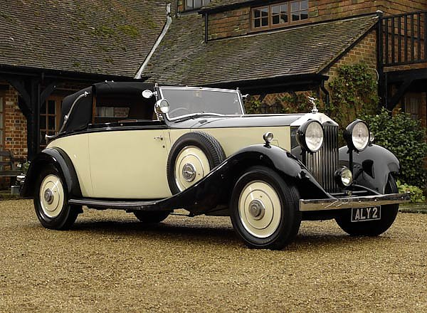 Rolls-Royce 20 25 Drophead Coupe by Young '1934