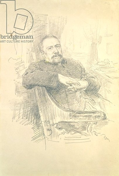 Portrait of Nikolaj Leskov, 1889