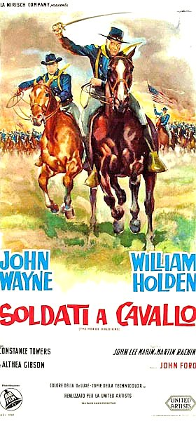Poster - Horse Soldiers, The