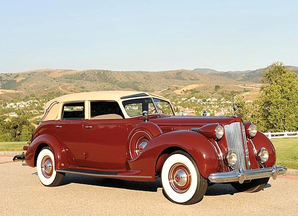 Packard Twelve Collapsible Touring Cabriolet by Brunn '1938