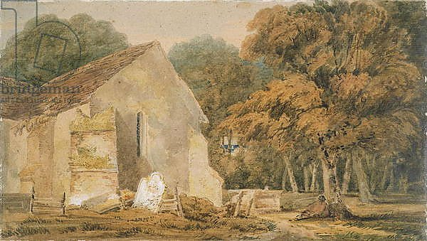 No.0735 A Country Churchyard, c.1797-98