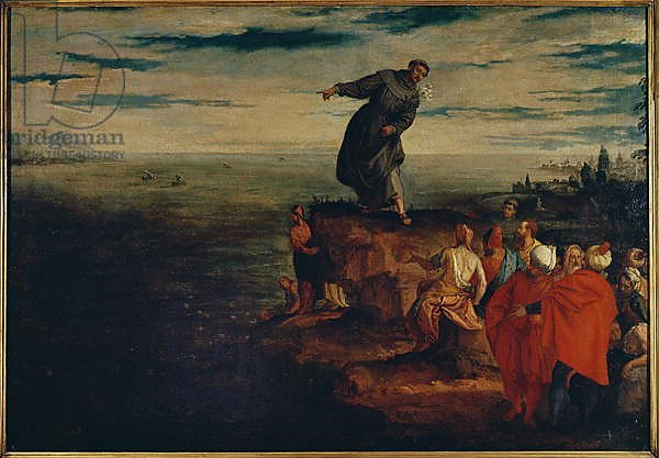 St. Anthony Preaching to the Fish, c.1580