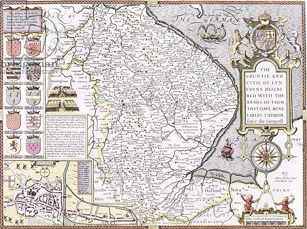 The Countie and Citie of Lyncolne, 1611-12