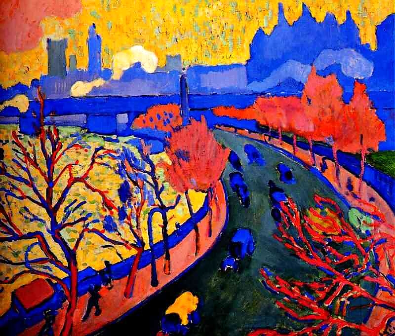 post impressionism and rouault french fauvism
