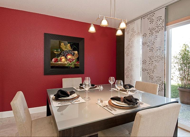 картина на стене для столовой