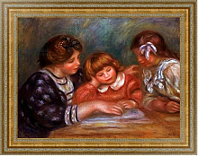 Постер Ренуар Пьер (Pierre-Auguste Renoir) The Lesson, 1906