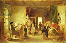 Постер Вебстер Томас A Study for 'The Schoolroom'