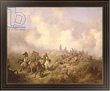 Постер Кившенко Алексей A Scene from the Russian-Turkish War in 1877-78, c.1870-80