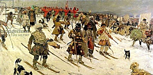 Постер Иванов Сергей A military campaign in Russia during the 16th century, 1903