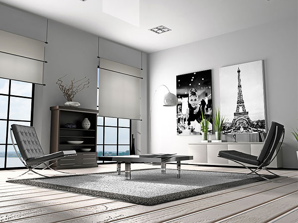 картины для интерьера черно-белые фото