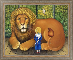 Картина в раме The Lion and Albert, 2001, Брумфильд Франсис